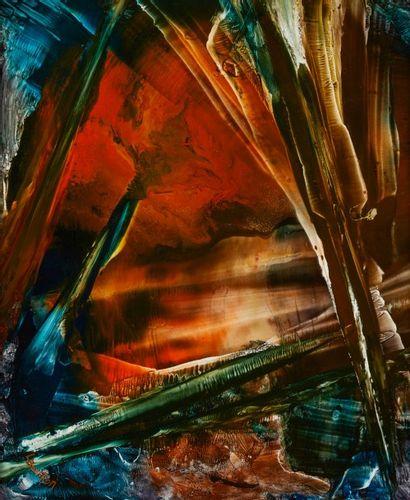 Lucienne BERTHON  3ème millénaire n°3, 2004...
