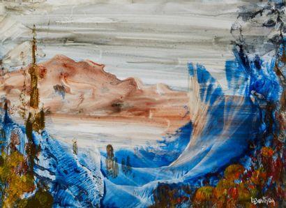 Lucienne BERTHON (1926 - Paris 2012)  Les...