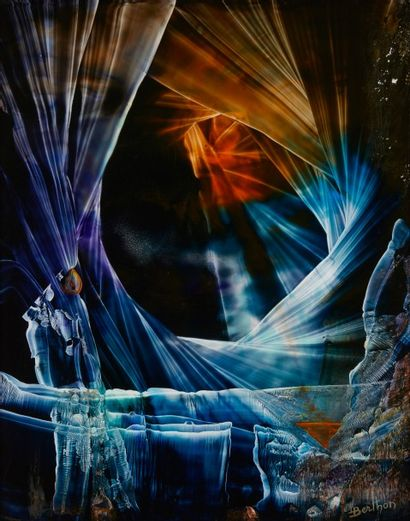 Lucienne BERTHON  La transmutation du feu...