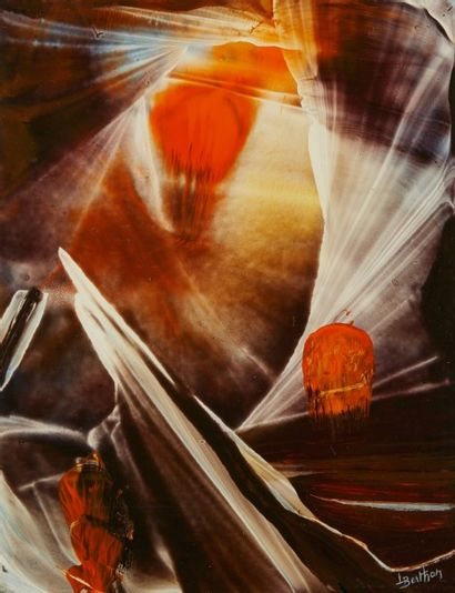 Lucienne BERTHON (1926 - Paris 2012)  Forêt...