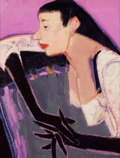 Alain RICHARD (Né en 1933)  Les gants de...