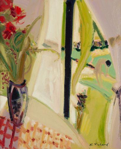 Alain RICHARD (Né en 1933)  Le Bouquet d'été...