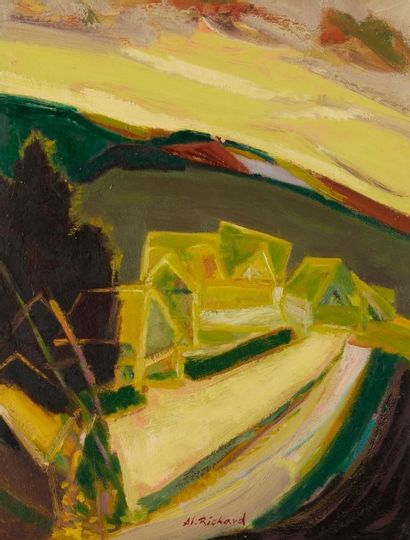 Alain RICHARD (Né en 1933)  Après l'orage...