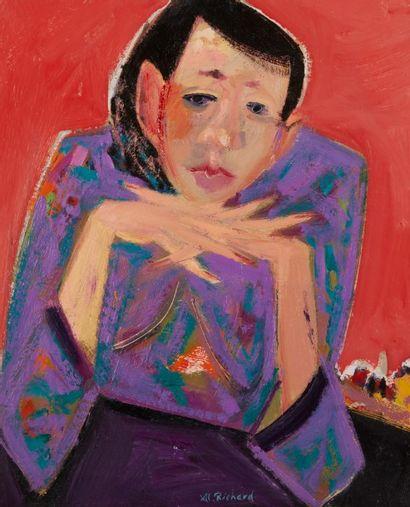 Alain RICHARD (Né en 1933)  Catherine en...
