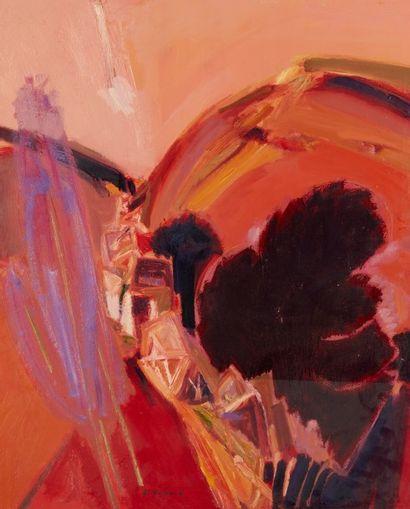 Alain RICHARD (Né en 1933)  La grange au...