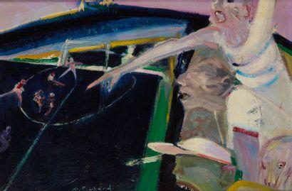Alain RICHARD (Né en 1933)  Les tribunes...