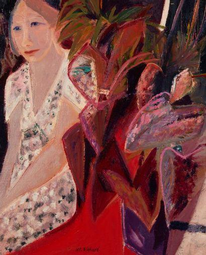 Alain RICHARD (Né en 1933)  Olga et la robe...