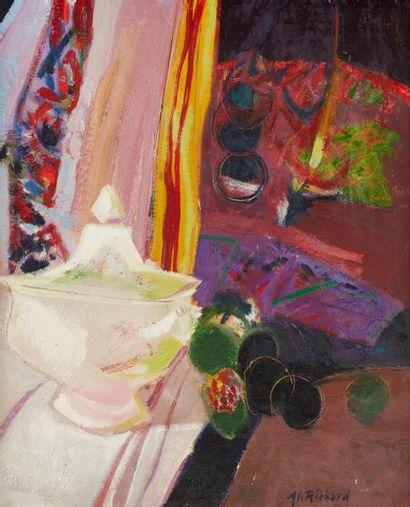 Alain RICHARD (Né en 1933)  Composition au...