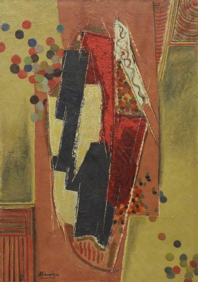 Amand BOUVIER (1913-1997)  Le carnaval, 1970...