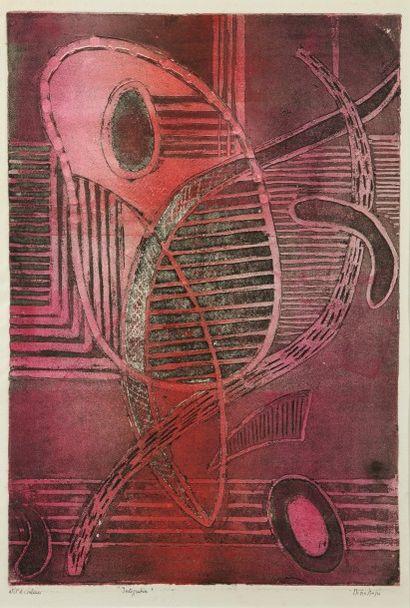 Nina NEGRI (Argentine 1901- Paris 1981)  Intégration...