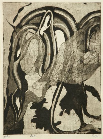 Nina NEGRI (Argentine 1901- Paris 1981)  Le...