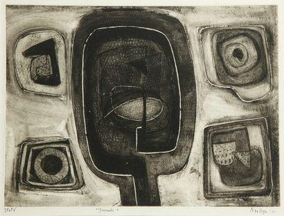 Nina NEGRI (Argentine 1901- Paris 1981)  Gamahé...