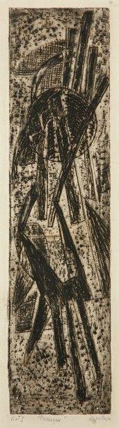 Nina NEGRI (Argentine 1901- Paris 1981)  Cosmique...