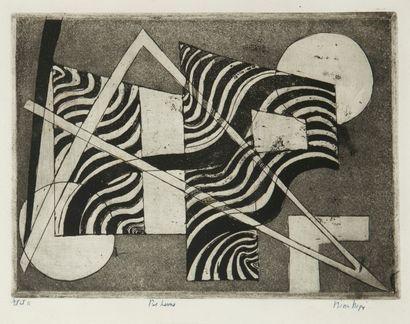 Nina NEGRI (Argentine 1901- Paris 1981)  Bi...