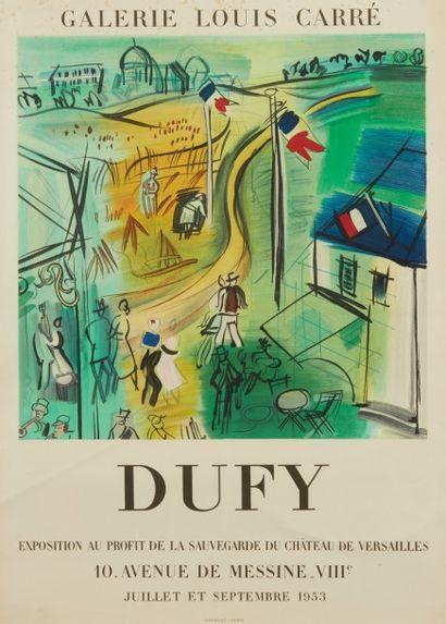 Affiche Raoul Dufy Galerie Louis Carré...