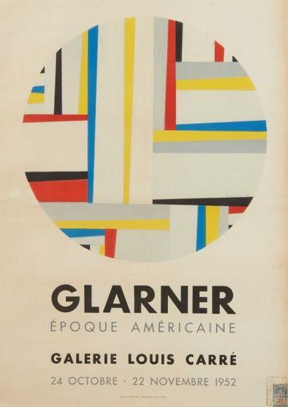 Affiche Glaner Galerie Louis Carré Paris...