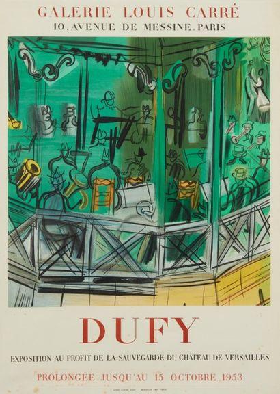 Affiche Dufy Galerie Louis Carré Paris...