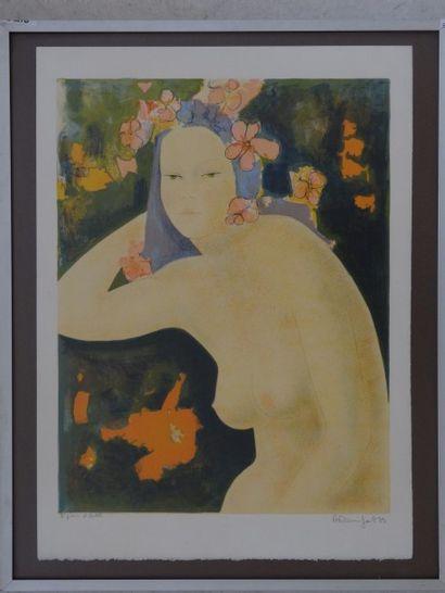 Alain BONNEFOIT (Paris 1937)  Portrait de...