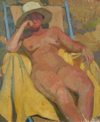 Albert COSTE (Marseille 1895 - 1985)  Femme...