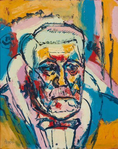 Amand BOUVIER (1913-1997)  Portrait de Jean...
