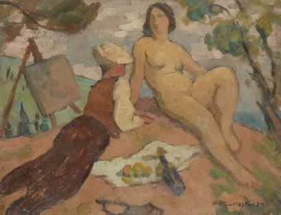 Albert COSTE (Marseille 1895 - 1985)  La...