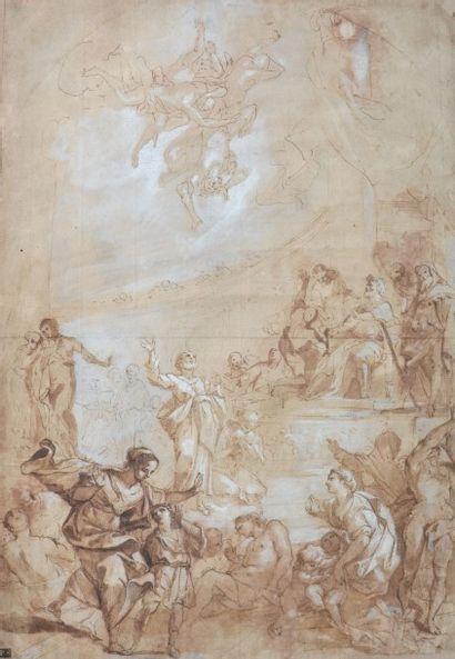 Ecole italienne du XVIIIe