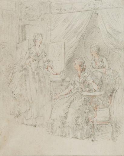 Ecole de Jean Michel MOREAU le jeune (Paris 1741 – 1814)