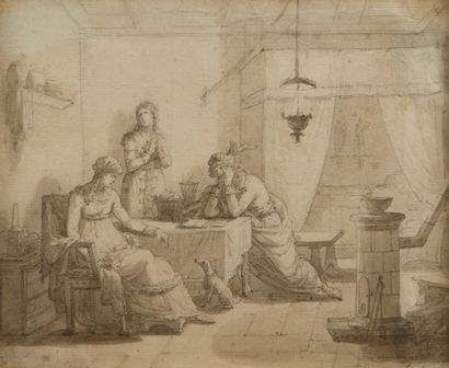 Jean Baptiste ISABEY (Nancy 1767 - Paris 1855)