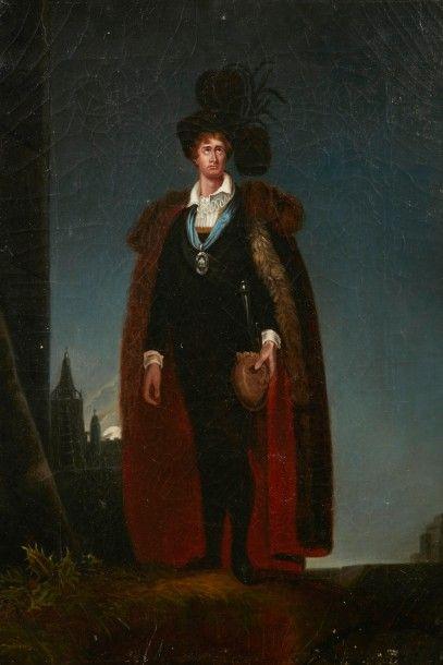 École ANGLAISE du XIXème siècle, suiveur de Sir Thomas Lawrence Portrait de John...