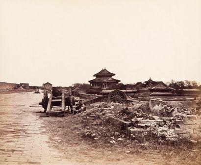 Felice BEATO (1835-1906)<br>La seconde guerre de l'opium, Pékin, c. 1860