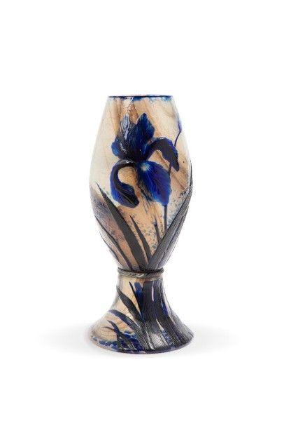 Alphonse George REYEN (1844 - 1910)<br>Iris d'eau, 1893