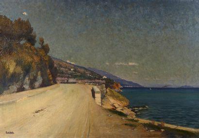 Paul SAIN (Avignon 1853 - 1908)  Bord de...