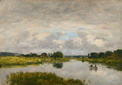 Eugène Louis BOUDIN (Honfleur 1824 - Deauville 1898)