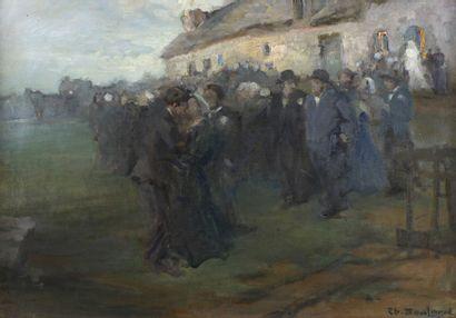 Théodore Louis BOULARD (1887-1961)  La noce...