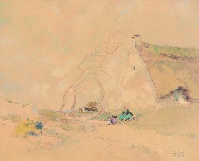 Ernest GUERIN (Rennes 1887 - Quiberon 1952)...