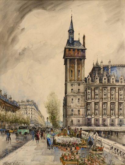 FRANK - WILL (Nanterre 1900-1951)  Le marché...