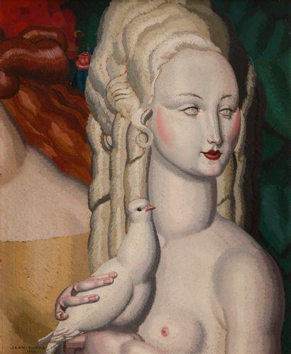 Jean DUPAS (Bordeaux 1882 - 1964)  Femme...