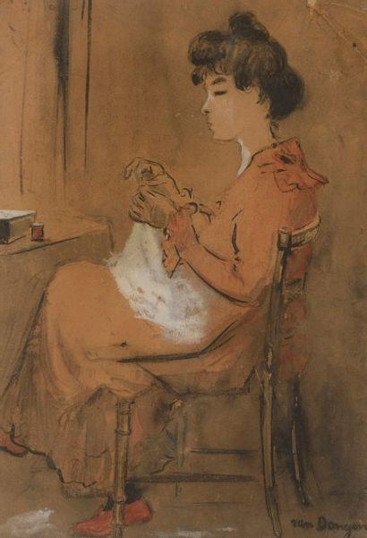 Kees VAN DONGEN (Delfshaven 1877 - Monaco...