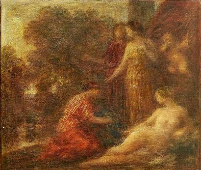 La toilette de Venus, Fantin-Latour Huile...