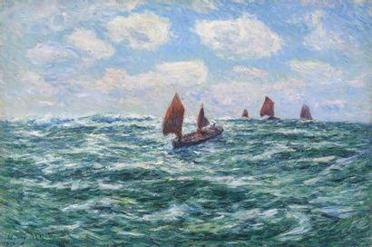 Henri MORET (Cherbourg 1856 - Paris 1913)...