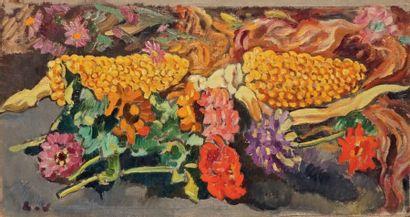 Louis VALTAT (Dieppe 1869 - Paris 1952)  Branches...
