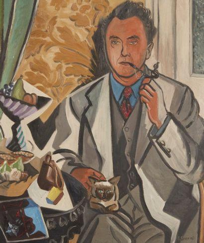 Gino SEVERINI ( Cortone 1883- Paris 1966)...