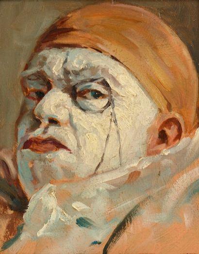Armand HENRION (Liège 1875 - 1958)  Clown...