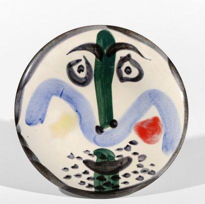 Pablo PICASSO (1881 - 1973)  Visage, n°130,...