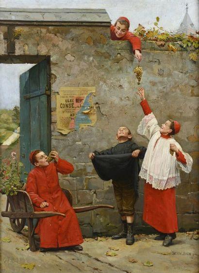 Paul-Charles CHOCARNE-MOREAU (Dijon 1855-...