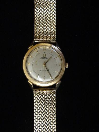 Montre bracelet d'homme OMEGA  Modèle Seamaster,...