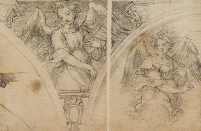 Attribué à Ventura SALIMBENI (Sienne 1568...