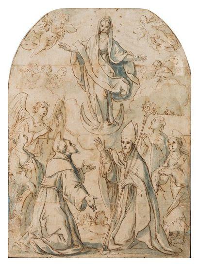 Ecole florentine vers 1600  L'Immaculée Conception...