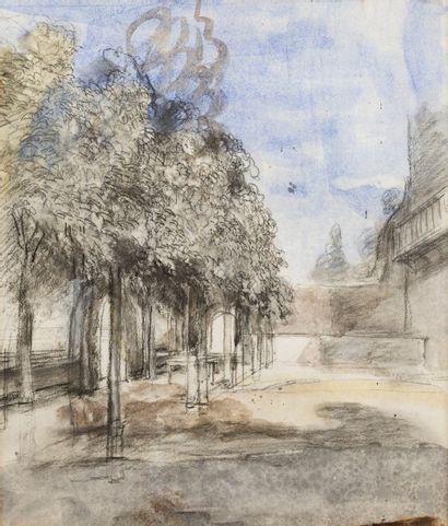 Georges MICHEL (Paris 1763 – 1843)  Paysage...