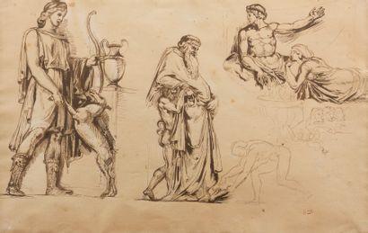 Attribué à Pierre ANDRIEU (Penouillet 1821...